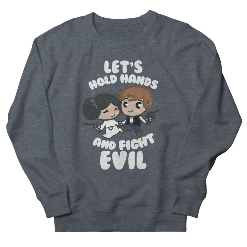 HOLD HANDS v.2 Women's Sweatshirt by SIRDYNAMO ARTIST SHOP