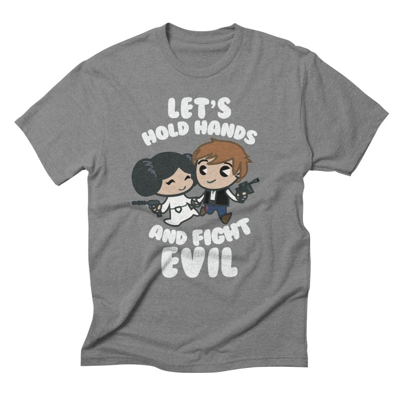 HOLD HANDS v.2 Men's Triblend T-shirt by SIRDYNAMO ARTIST SHOP
