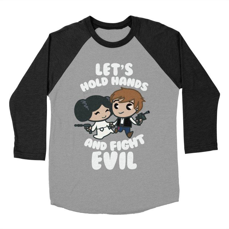 HOLD HANDS v.2 Women's Baseball Triblend T-Shirt by SIRDYNAMO ARTIST SHOP
