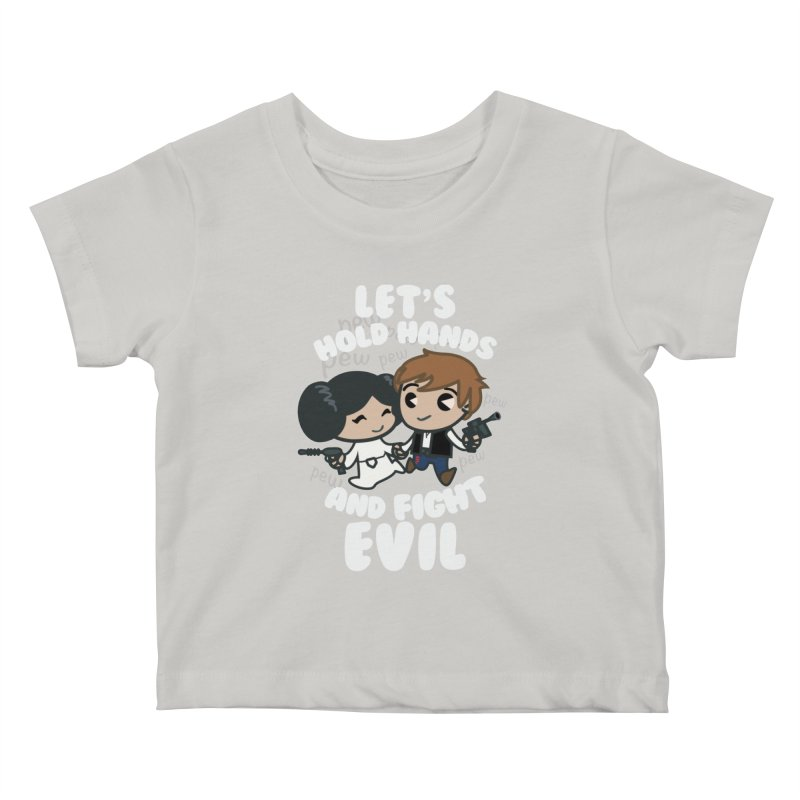 HOLD HANDS v.2 Kids Baby T-Shirt by SIRDYNAMO ARTIST SHOP