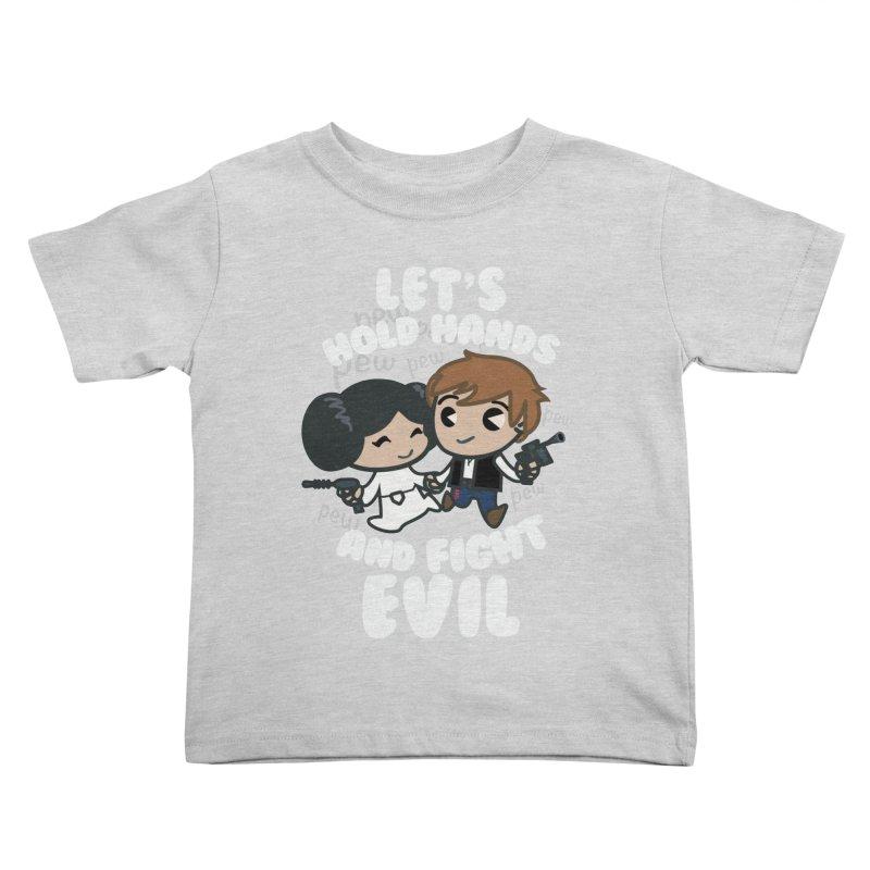 HOLD HANDS v.2 Kids Toddler T-Shirt by SIRDYNAMO ARTIST SHOP