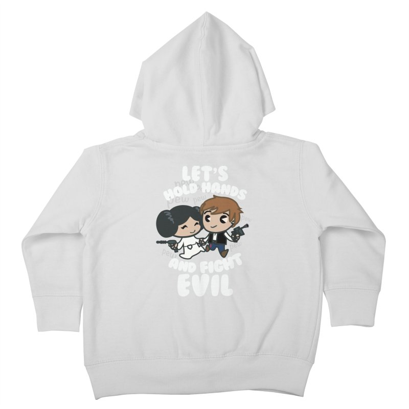 HOLD HANDS v.2 Kids Toddler Zip-Up Hoody by SIRDYNAMO ARTIST SHOP