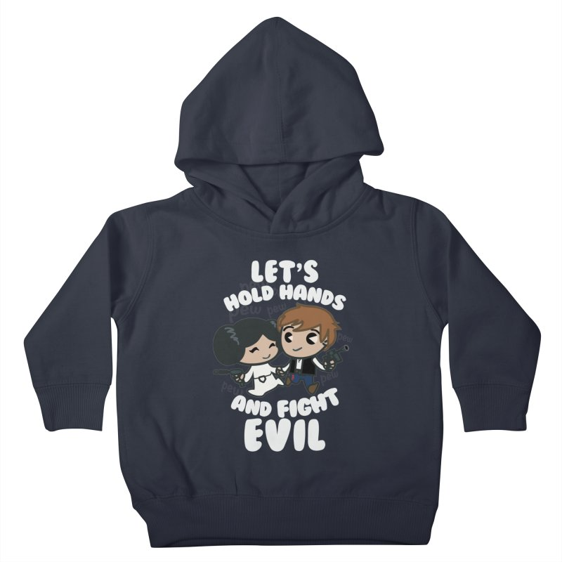 HOLD HANDS v.2 Kids Toddler Pullover Hoody by SIRDYNAMO ARTIST SHOP
