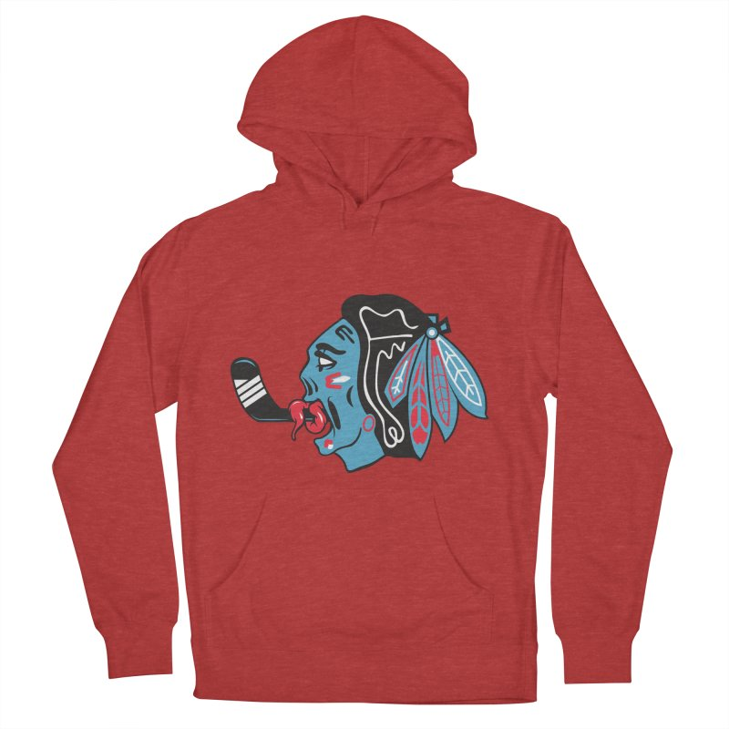Zombie Hawk Women's French Terry Pullover Hoody by The Art Of Steven Luros Holliday