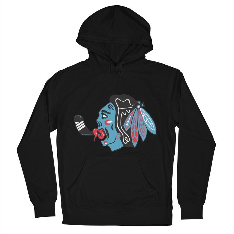 Zombie Hawk Men's Pullover Hoody by The Art Of Steven Luros Holliday