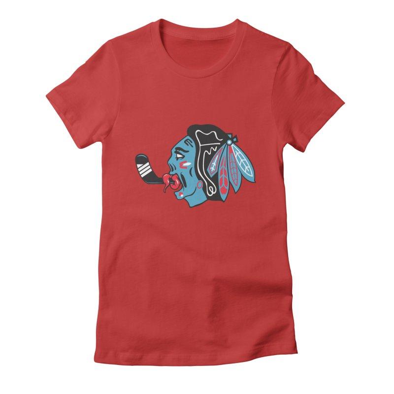 Zombie Hawk Women's T-Shirt by The Art Of Steven Luros Holliday