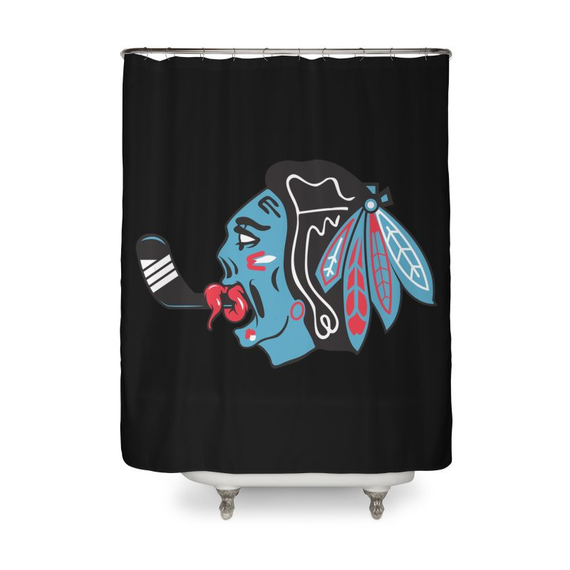Zombie Hawk Home Shower Curtain by The Art Of Steven Luros Holliday