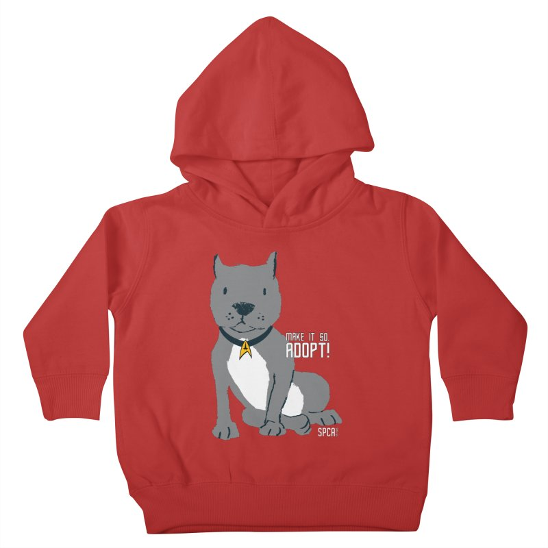 Make it so. Adopt! Kids Toddler Pullover Hoody by SPCA of Texas' Artist Shop