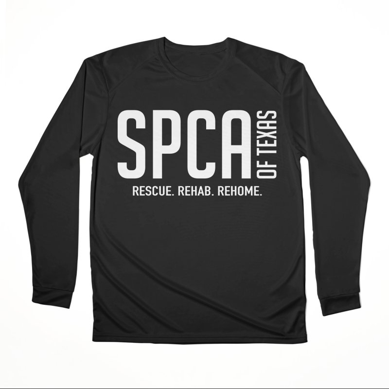SPCA of Texas Logo Women's Longsleeve T-Shirt by SPCA of Texas' Artist Shop
