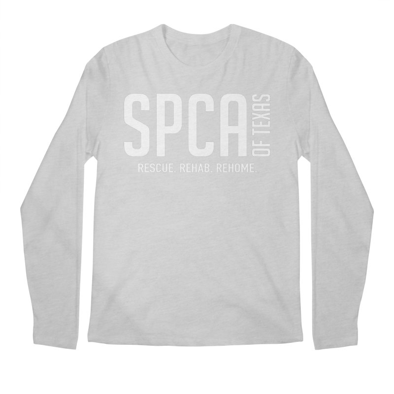 SPCA of Texas Logo Men's Regular Longsleeve T-Shirt by SPCA of Texas' Artist Shop