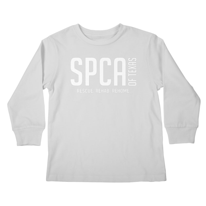 SPCA of Texas Logo Kids Longsleeve T-Shirt by SPCA of Texas' Artist Shop