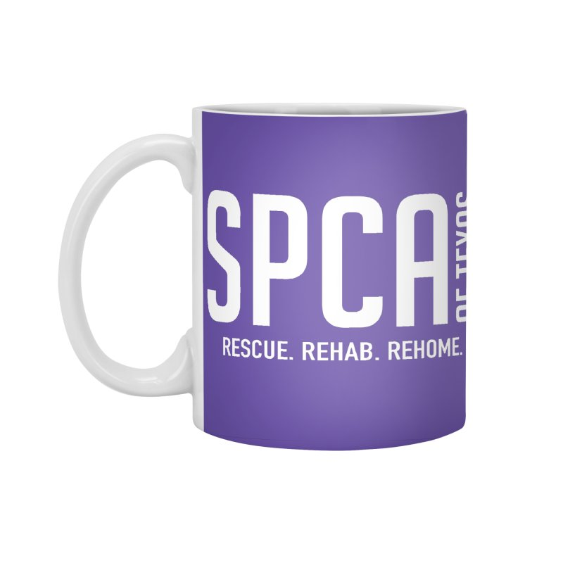 SPCA of Texas Logo Accessories Standard Mug by SPCA of Texas' Artist Shop