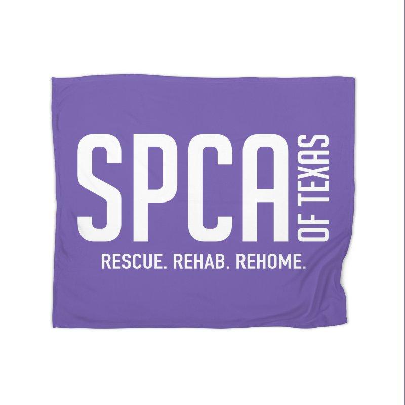 SPCA of Texas Logo Home Blanket by SPCA of Texas' Artist Shop