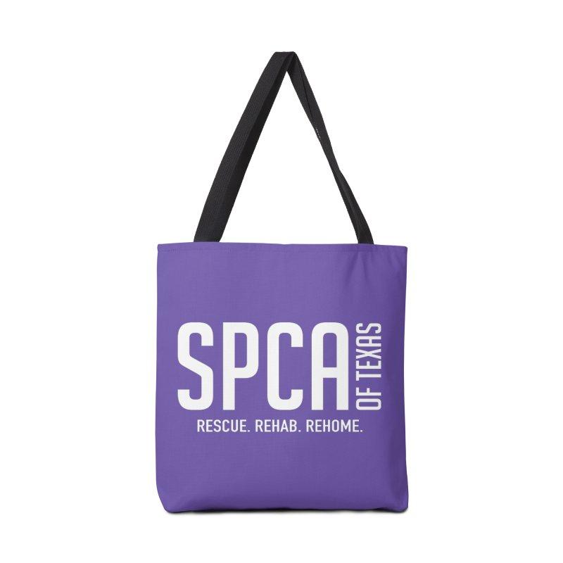 SPCA of Texas Logo Accessories Tote Bag Bag by SPCA of Texas' Artist Shop