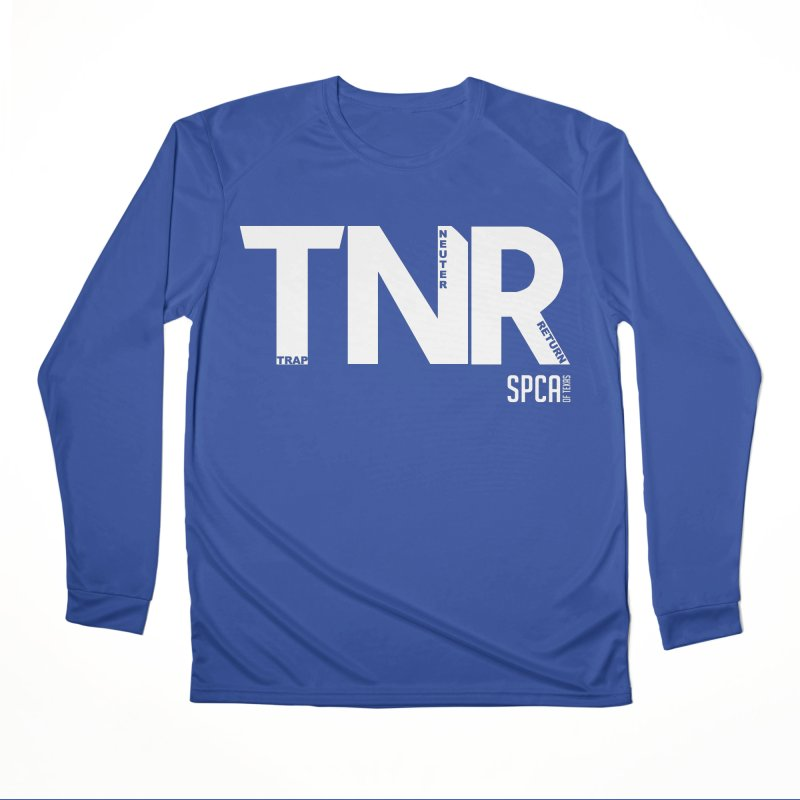 TNR - Trap Neuter Return Men's Performance Longsleeve T-Shirt by SPCA of Texas' Artist Shop