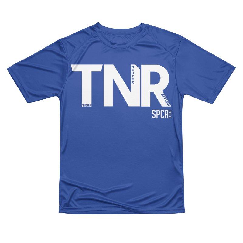 TNR - Trap Neuter Return Men's Performance T-Shirt by SPCA of Texas' Artist Shop