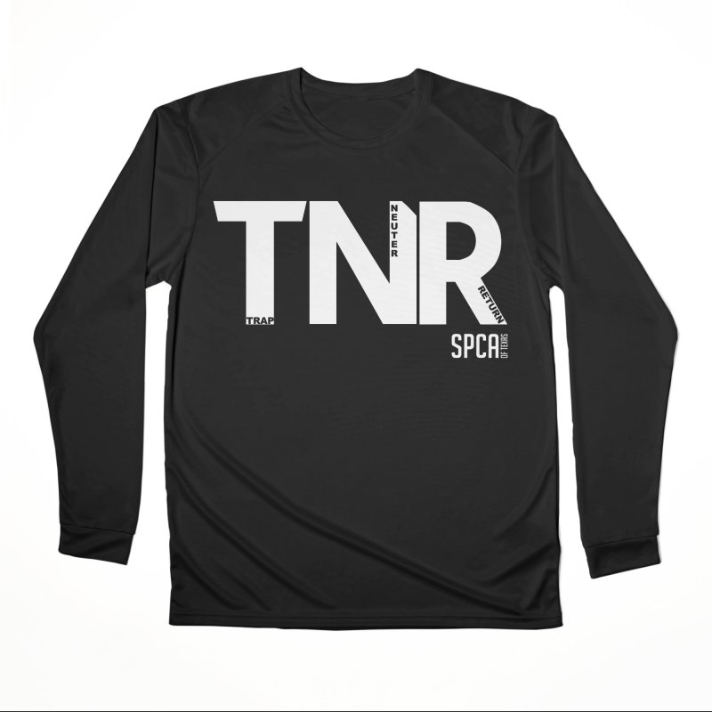 TNR - Trap Neuter Return Women's Longsleeve T-Shirt by SPCA of Texas' Artist Shop