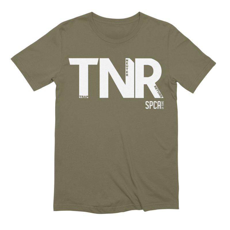 TNR - Trap Neuter Return Men's Extra Soft T-Shirt by SPCA of Texas' Artist Shop