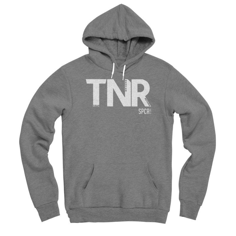 TNR - Trap Neuter Return Women's Sponge Fleece Pullover Hoody by SPCA of Texas' Artist Shop