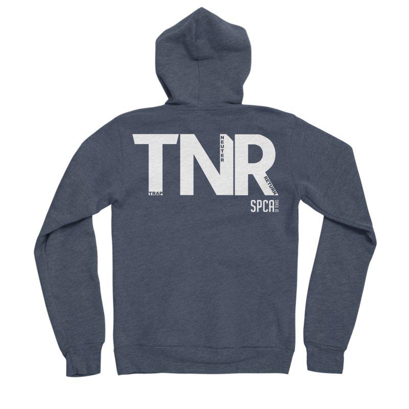 TNR - Trap Neuter Return Women's Sponge Fleece Zip-Up Hoody by SPCA of Texas' Artist Shop