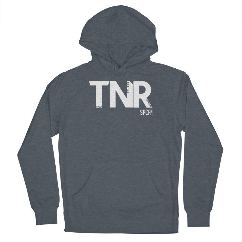 TNR - Trap Neuter Return Men's French Terry Pullover Hoody by SPCA of Texas' Artist Shop