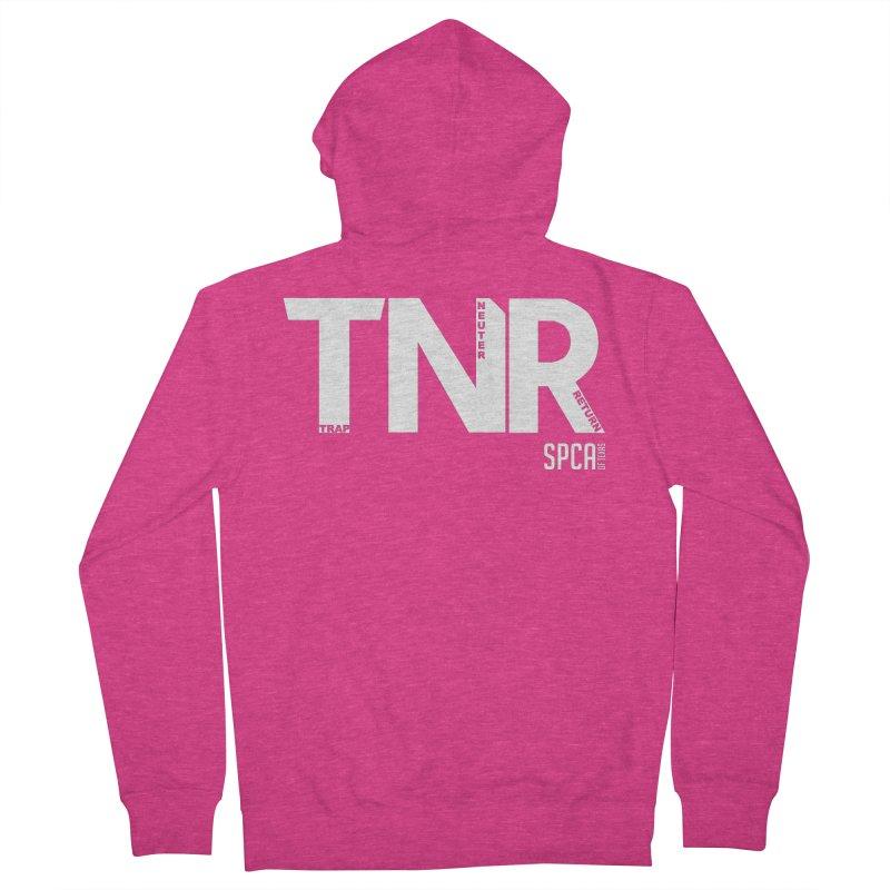 TNR - Trap Neuter Return Women's French Terry Zip-Up Hoody by SPCA of Texas' Artist Shop