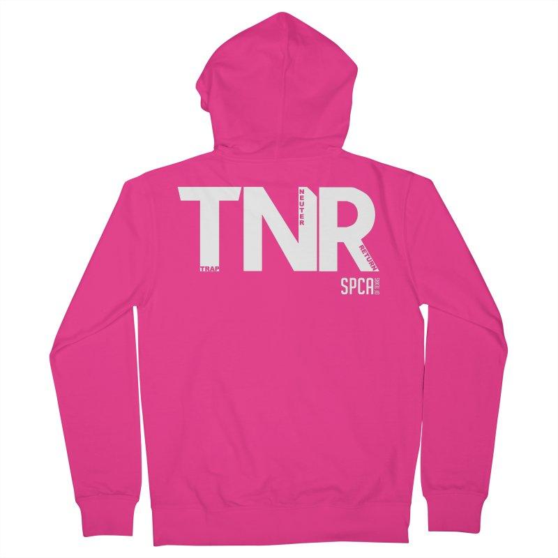TNR - Trap Neuter Return Men's French Terry Zip-Up Hoody by SPCA of Texas' Artist Shop