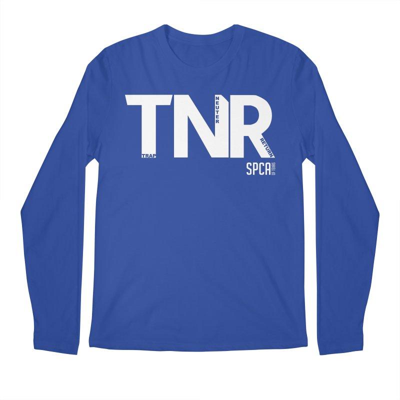 TNR - Trap Neuter Return Men's Regular Longsleeve T-Shirt by SPCA of Texas' Artist Shop