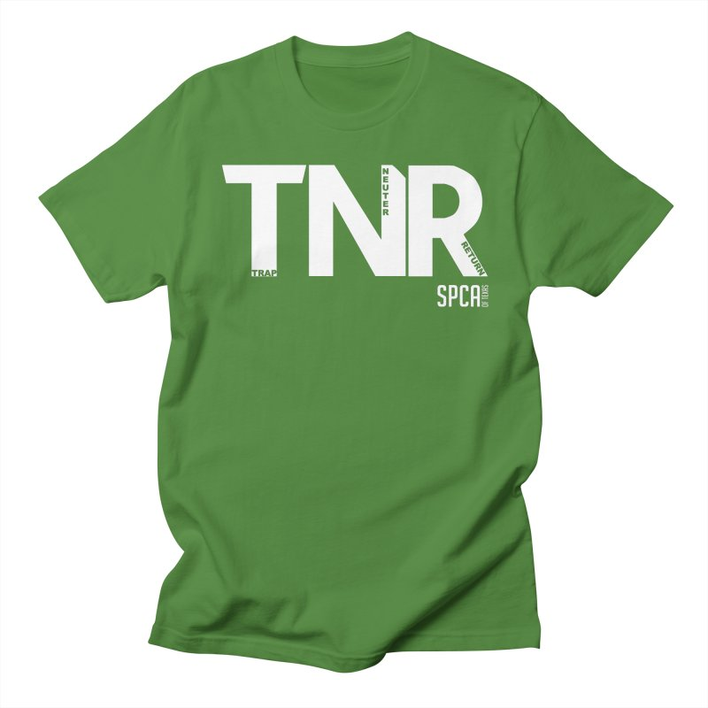TNR - Trap Neuter Return Men's Regular T-Shirt by SPCA of Texas' Artist Shop
