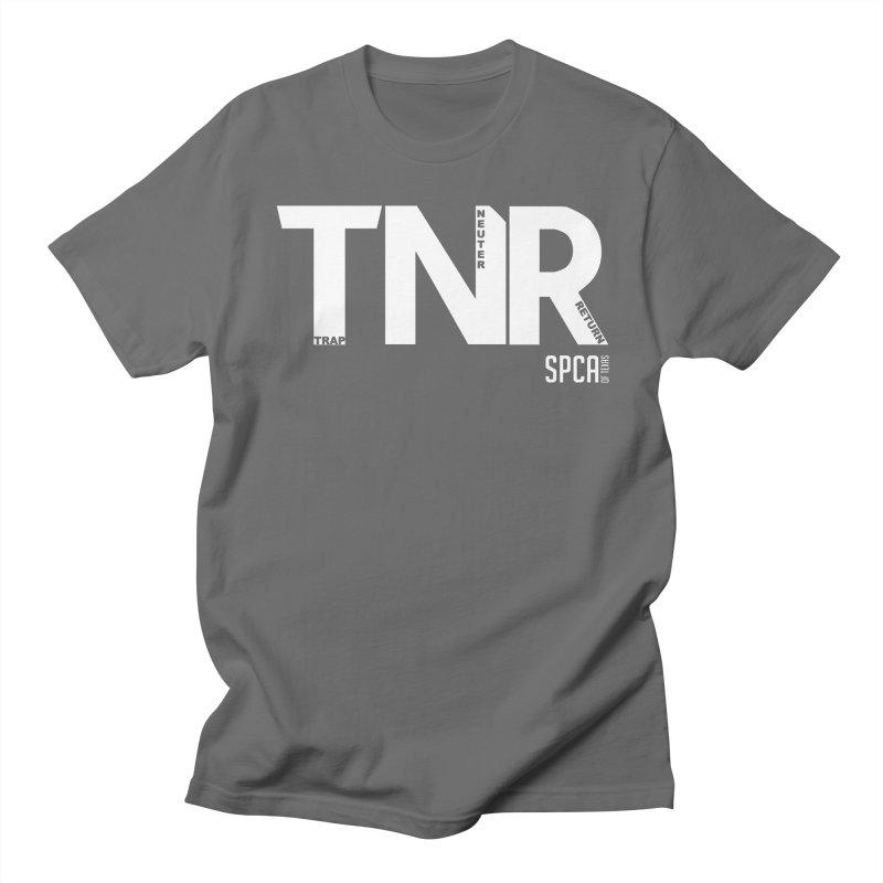 TNR - Trap Neuter Return Women's Regular Unisex T-Shirt by SPCA of Texas' Artist Shop