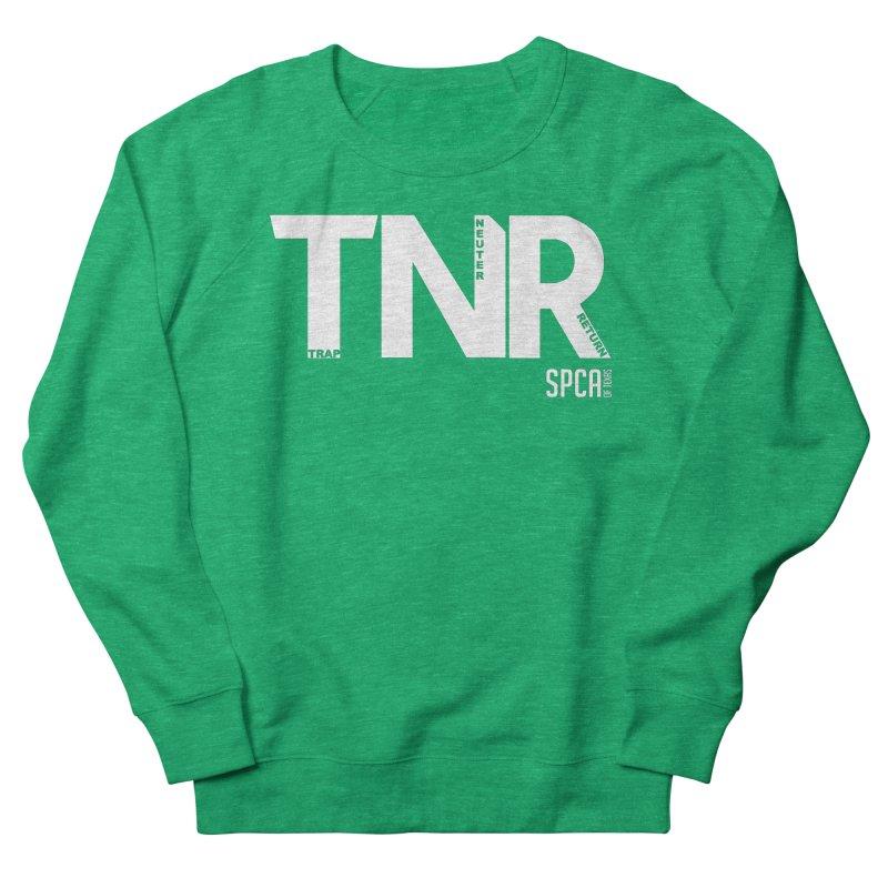 TNR - Trap Neuter Return Women's Sweatshirt by SPCA of Texas' Artist Shop