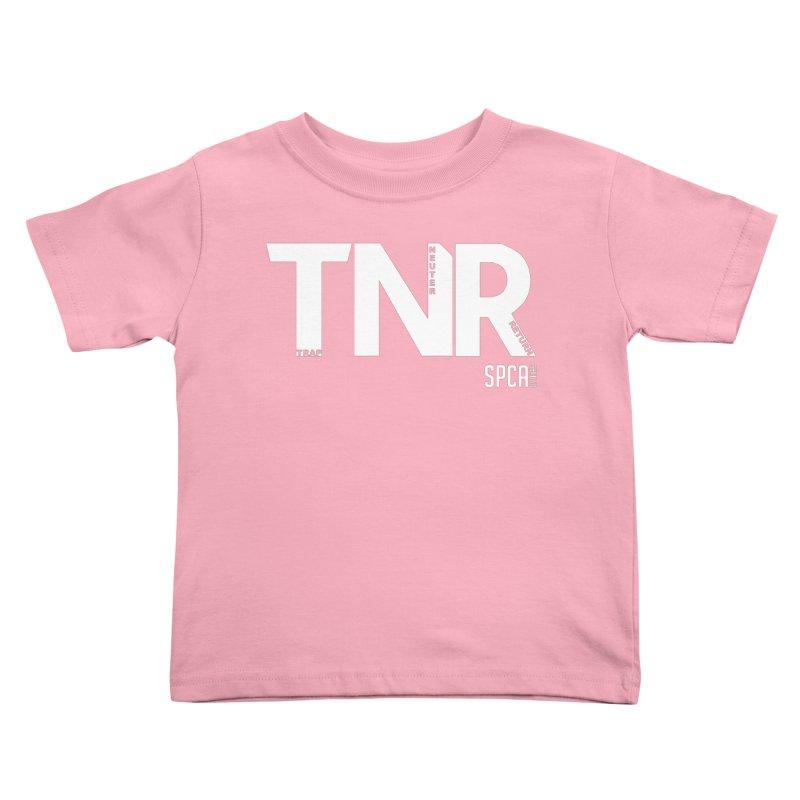 TNR - Trap Neuter Return Kids Toddler T-Shirt by SPCA of Texas' Artist Shop