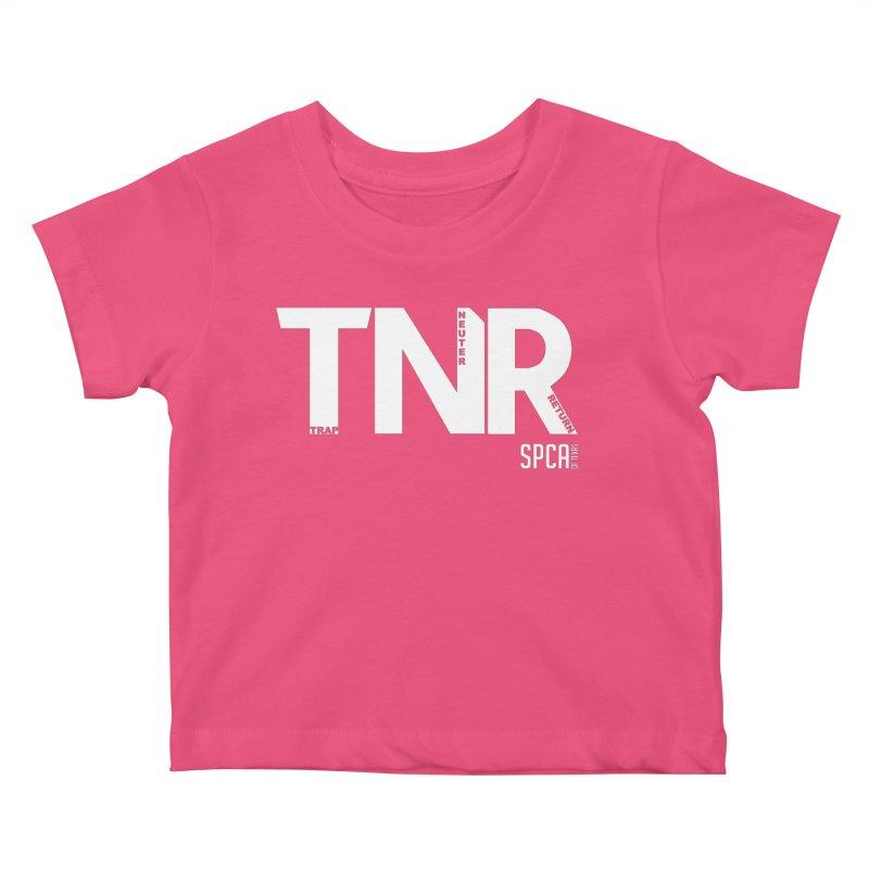 TNR - Trap Neuter Return Kids Baby T-Shirt by SPCA of Texas' Artist Shop