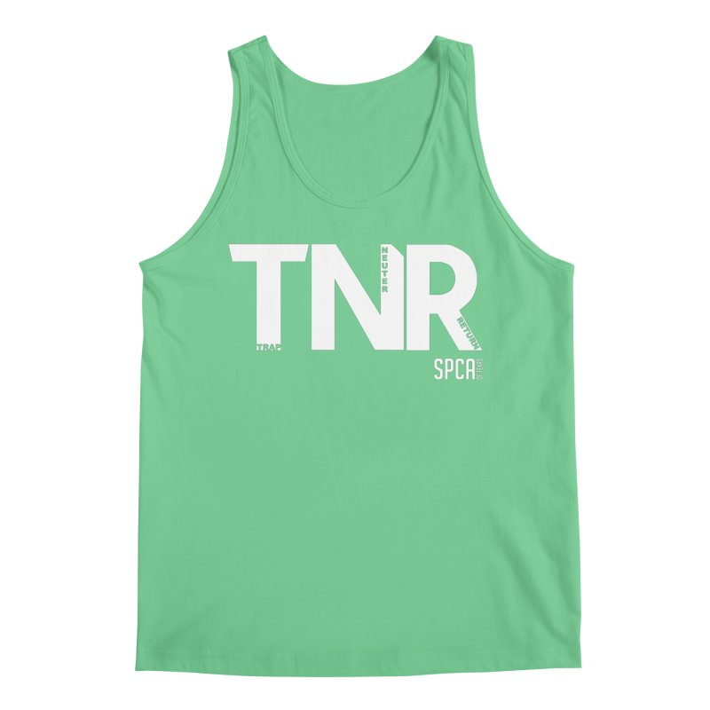 TNR - Trap Neuter Return Men's Regular Tank by SPCA of Texas' Artist Shop