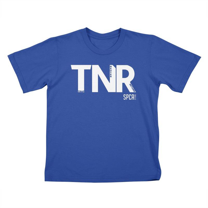 TNR - Trap Neuter Return Kids T-Shirt by SPCA of Texas' Artist Shop