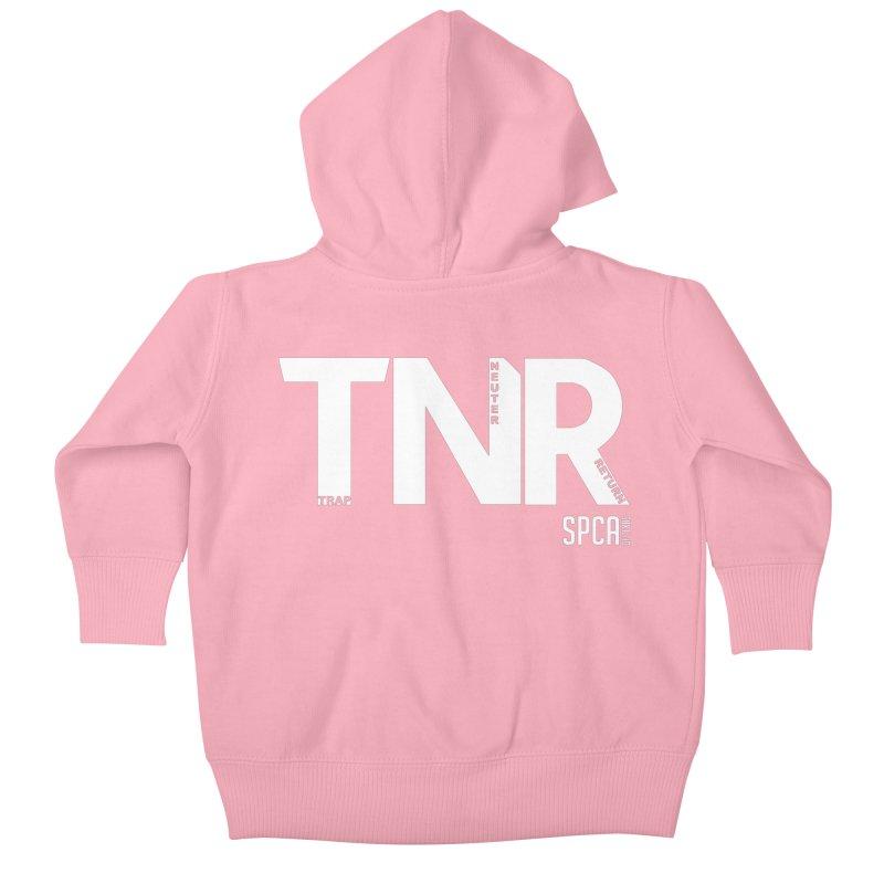 TNR - Trap Neuter Return Kids Baby Zip-Up Hoody by SPCA of Texas' Artist Shop