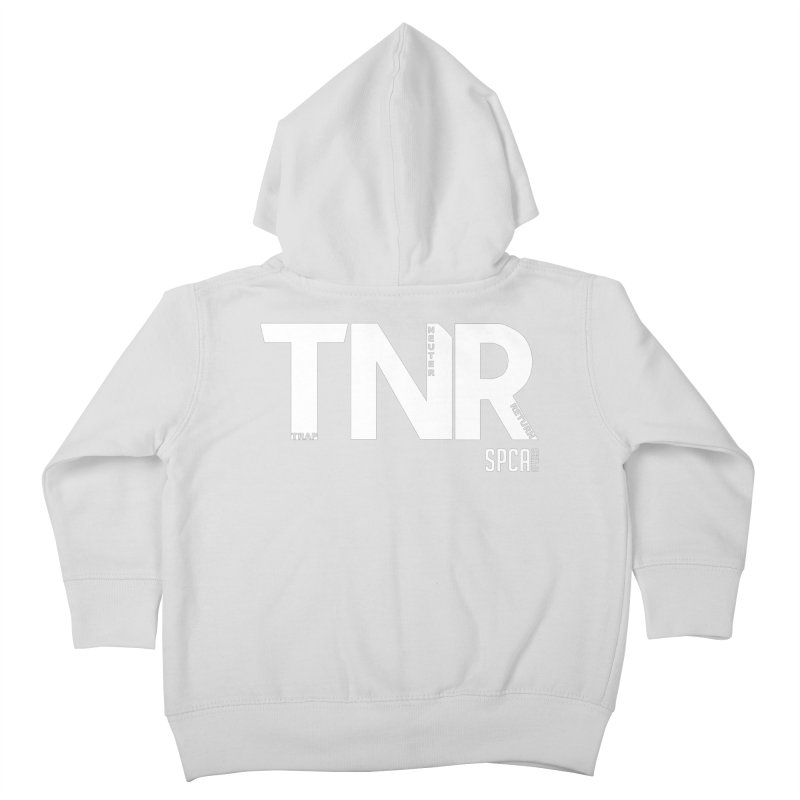 TNR - Trap Neuter Return Kids Toddler Zip-Up Hoody by SPCA of Texas' Artist Shop