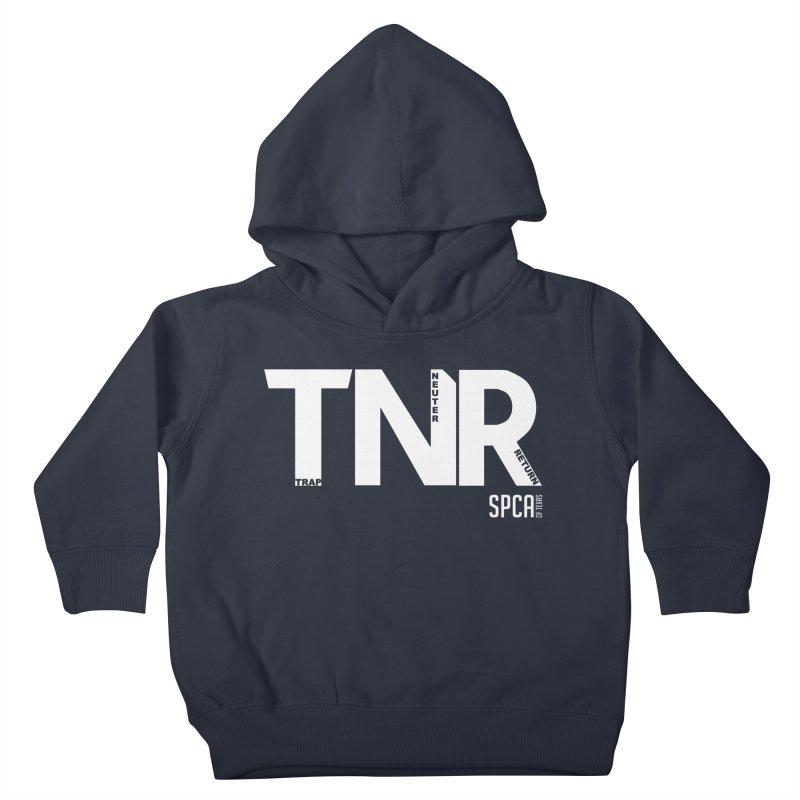 TNR - Trap Neuter Return Kids Toddler Pullover Hoody by SPCA of Texas' Artist Shop