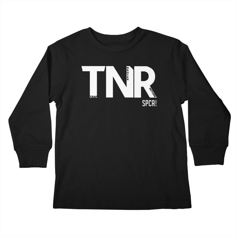 TNR - Trap Neuter Return Kids Longsleeve T-Shirt by SPCA of Texas' Artist Shop