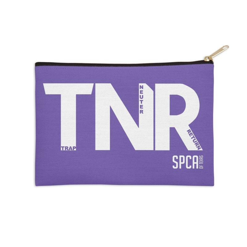 TNR - Trap Neuter Return Accessories Zip Pouch by SPCA of Texas' Artist Shop