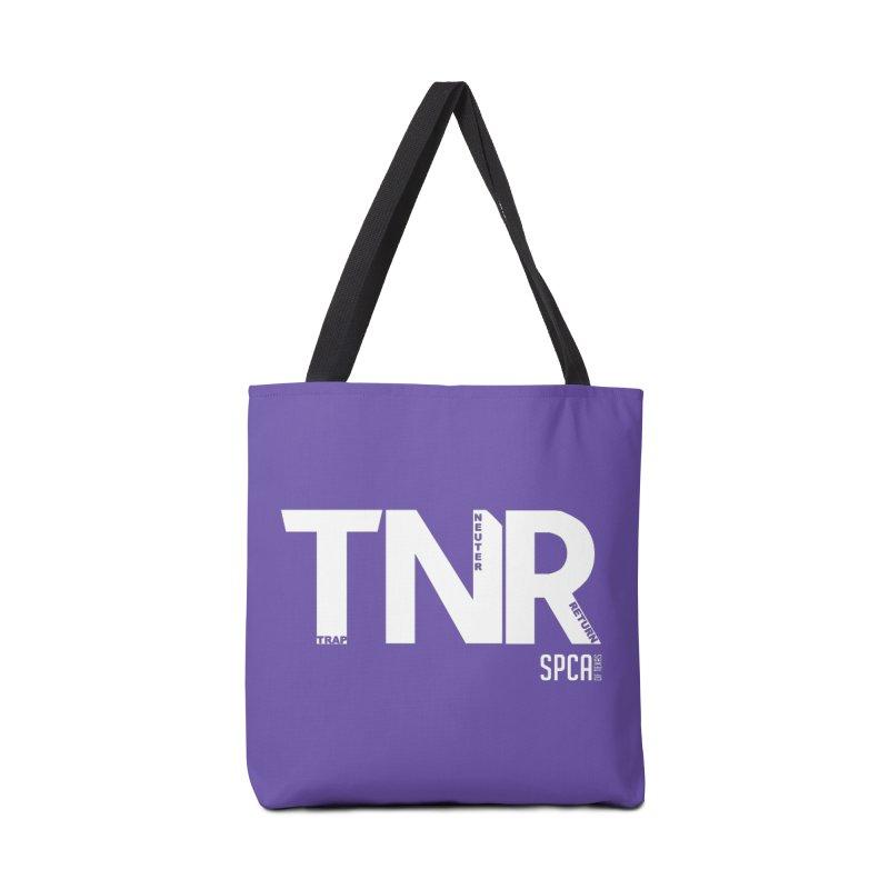 TNR - Trap Neuter Return Accessories Tote Bag Bag by SPCA of Texas' Artist Shop