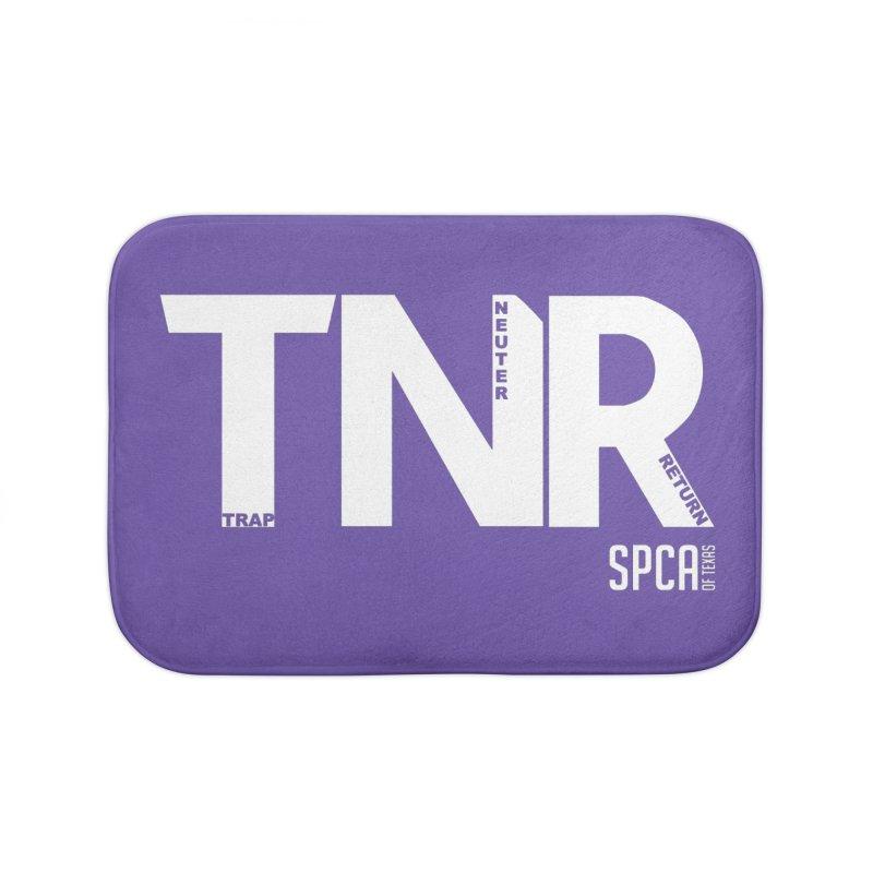TNR - Trap Neuter Return Home Bath Mat by SPCA of Texas' Artist Shop