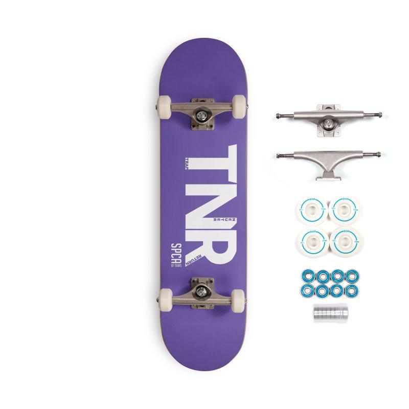 TNR - Trap Neuter Return Accessories Complete - Basic Skateboard by SPCA of Texas' Artist Shop