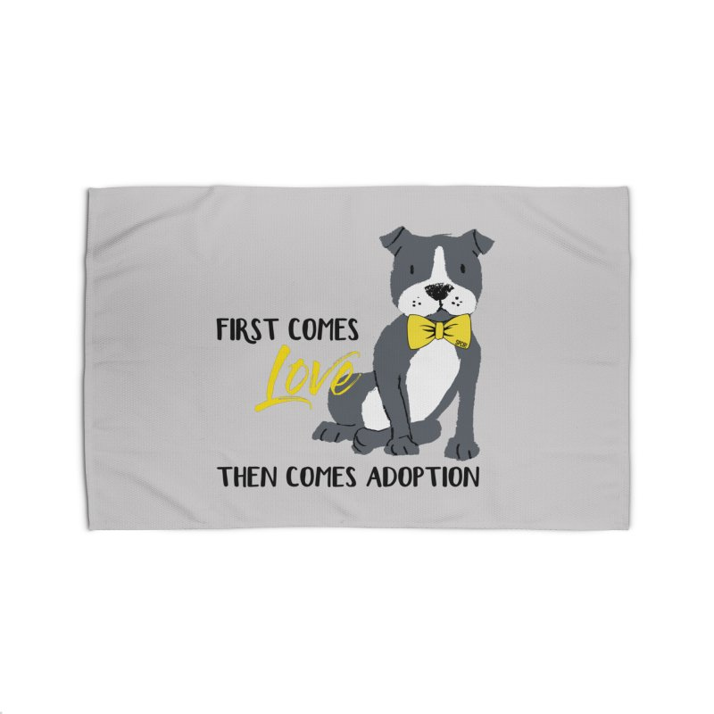 Pit Bull Love Home Rug by SPCA of Texas' Artist Shop