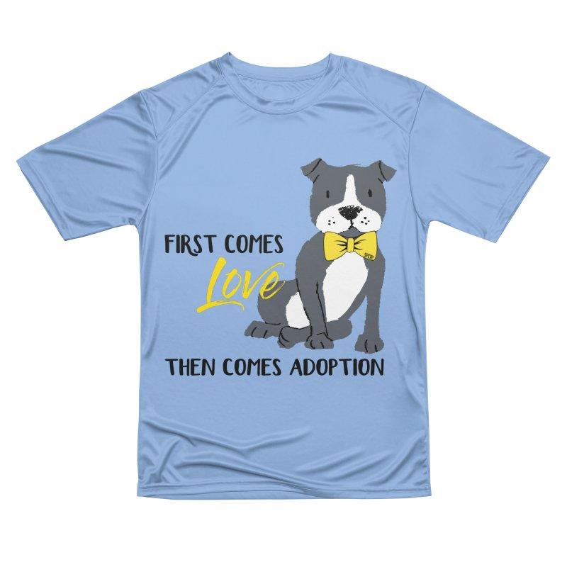Pit Bull Love Men's T-Shirt by SPCA of Texas' Artist Shop