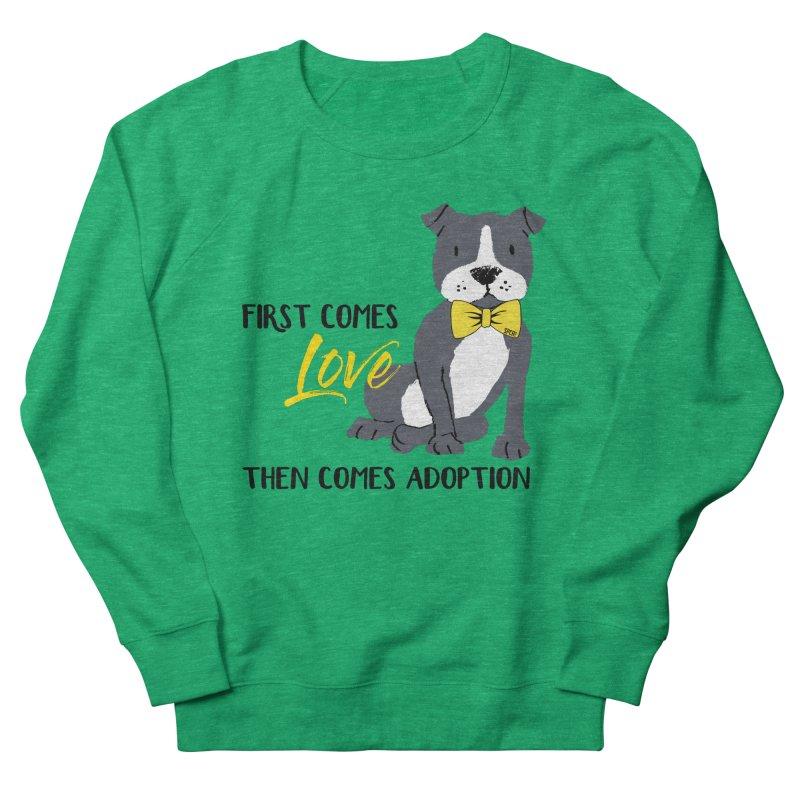 Pit Bull Love Women's Sweatshirt by SPCA of Texas' Artist Shop