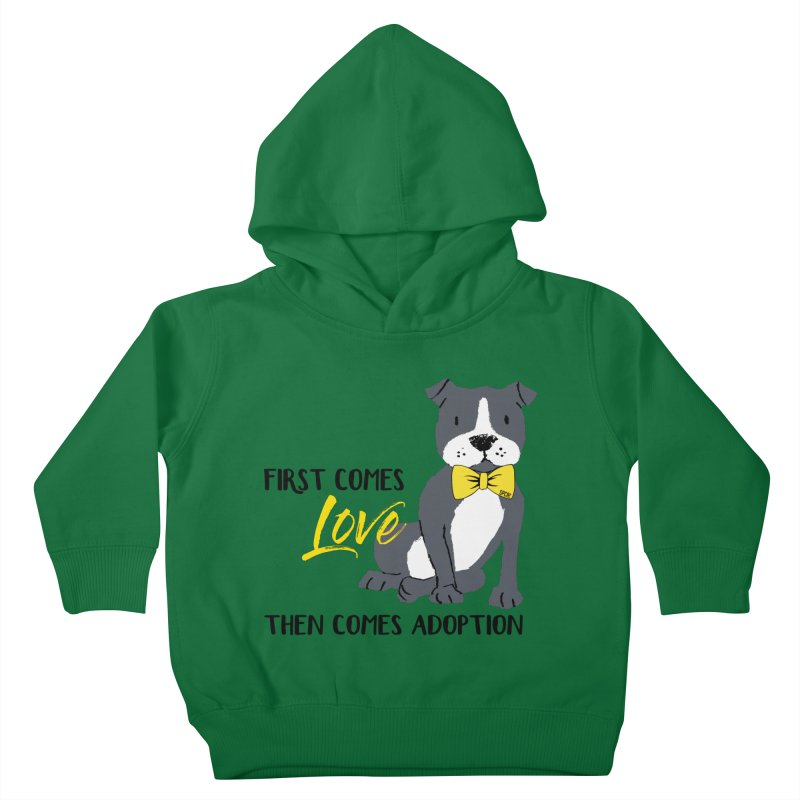 Pit Bull Love Kids Toddler Pullover Hoody by SPCA of Texas' Artist Shop
