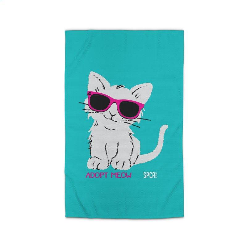 Adopt Meow Home Rug by SPCA of Texas' Artist Shop