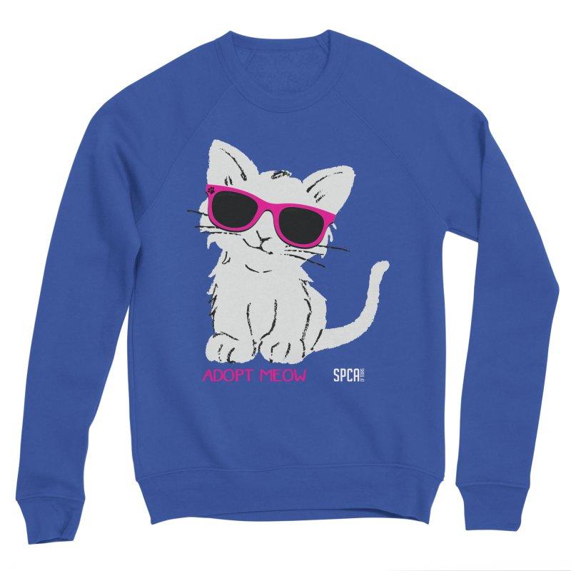 Adopt Meow Women's Sweatshirt by SPCA of Texas' Artist Shop
