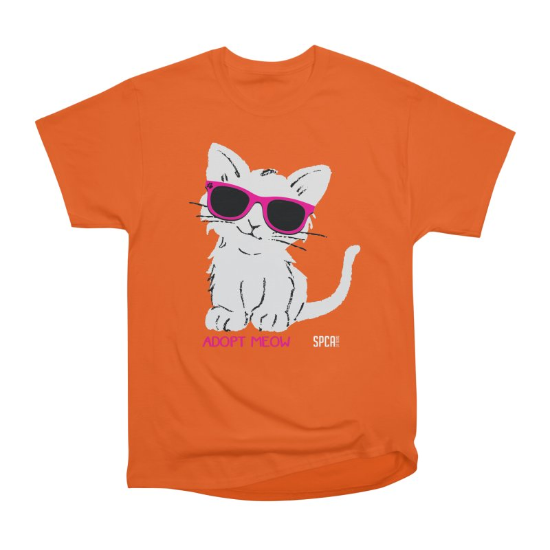 Adopt Meow Women's T-Shirt by SPCA of Texas' Artist Shop